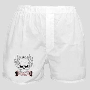 Rebel Skull Wings Boxer Shorts