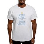Keep Calm and Shell - Light T-Shirt