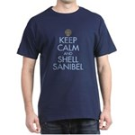 Keep Calm and Shell - Dark T-Shirt