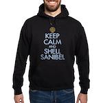 Keep Calm and Shell - Hoodie (dark)