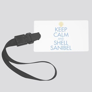 Keep Calm and Shell - Large Luggage Tag