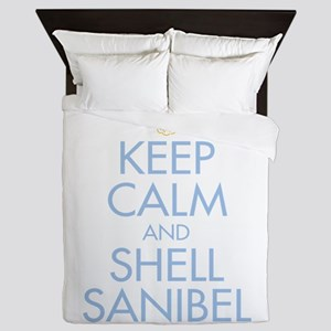 Keep Calm and Shell - Queen Duvet