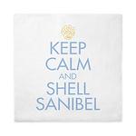 Keep Calm and Shell - Queen Duvet