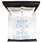 Keep Calm and Shell - King Duvet