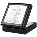 Keep Calm and Shell - Keepsake Box