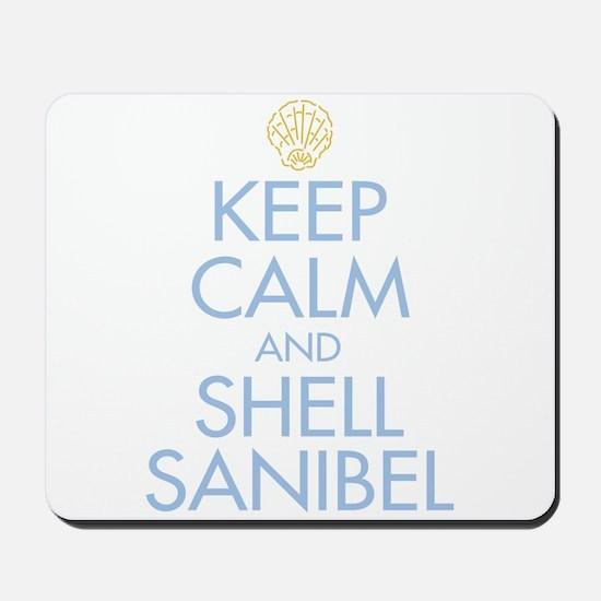 Keep Calm and Shell - Mousepad