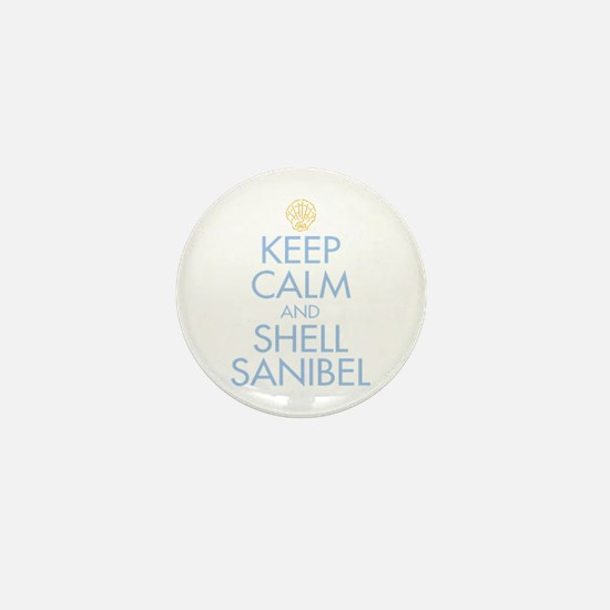Keep Calm and Shell - Mini Button