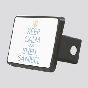 Keep Calm and Shell - Rectangular Hitch Cover