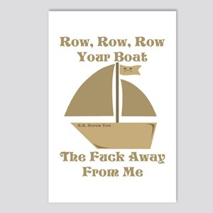 Row your Boat Postcards (Package of 8)