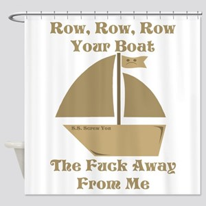 Row your Boat Shower Curtain