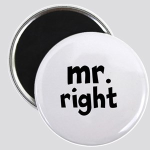 Mr Right part of mr and mrs set Magnets