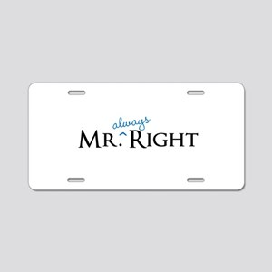 Mr always Right part of his and hers set Aluminum
