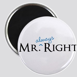 Mr always Right part of his and hers set Magnets