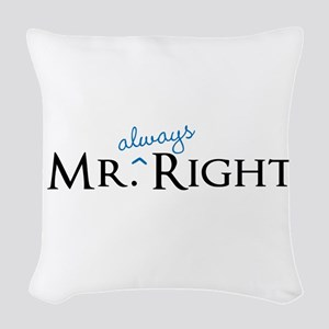 Mr always Right part of his and hers set Woven Thr
