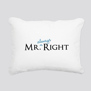 Mr always Right part of his and hers set Rectangul