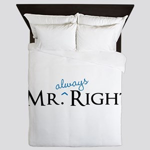 Mr always Right part of his and hers set Queen Duv