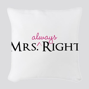 Mrs Always Right part of his and hers set Woven Th