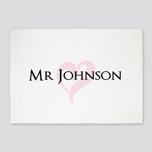 Own name Mr and Mrs set - Mr 5'x7'Area Rug