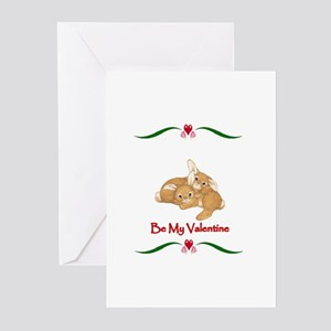 Be my Valentine Greeting Cards (Pk of 10)