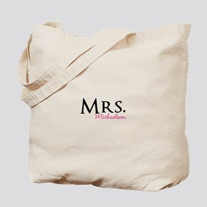 Your own name Mr and Mrs set - Mrs Tote Bag