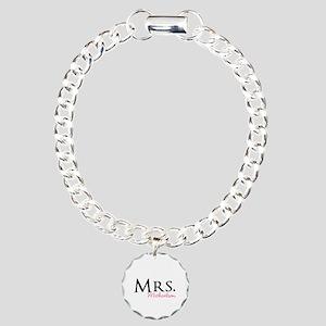 Your own name Mr and Mrs set - Mrs Charm Bracelet,