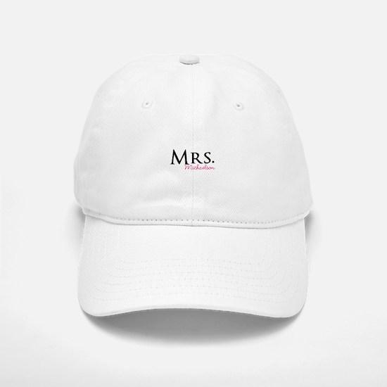 Your own name Mr and Mrs set - Mrs Baseball Baseball Cap