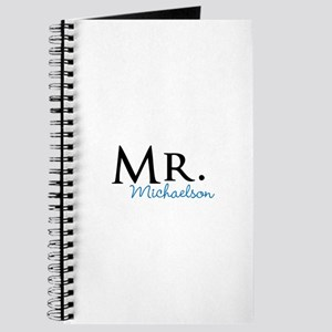 Your name Mr and Mrs set - Mr Journal