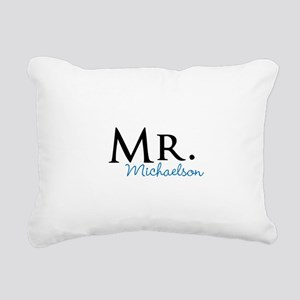 Your name Mr and Mrs set - Mr Rectangular Canvas P