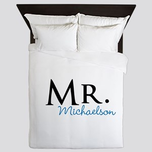 Your name Mr and Mrs set - Mr Queen Duvet