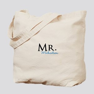 Your name Mr and Mrs set - Mr Tote Bag