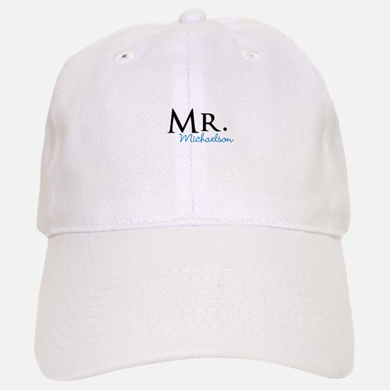 Your name Mr and Mrs set - Mr Baseball Baseball Cap