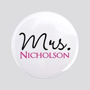 "Customizable Name Mrs 3.5"" Button"