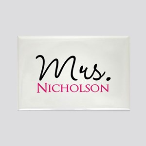 Customizable Mr and Mrs set - Mrs Magnets