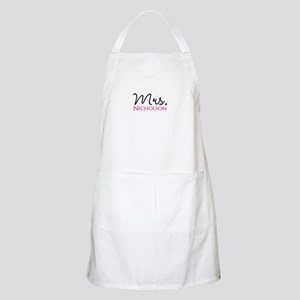 Customizable Mr and Mrs set - Mrs Apron