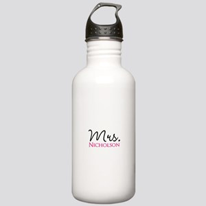Customizable Name Mrs Stainless Water Bottle 1.0L