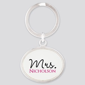 Customizable Mr and Mrs set - Mrs Keychains
