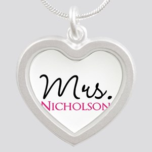 Customizable Mr and Mrs set - Mrs Necklaces