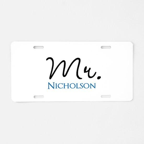 Customizable Mr and Mrs set - Mr Aluminum License