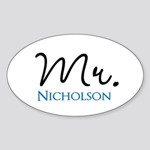 Customizable Mr and Mrs set - Mr Sticker