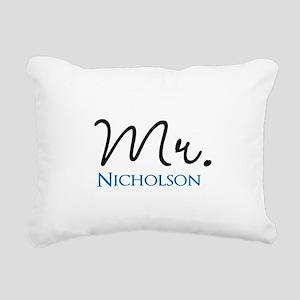 Customizable Mr and Mrs set - Mr Rectangular Canva
