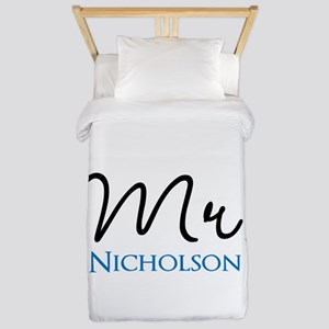 Customizable Mr and Mrs set - Mr Twin Duvet