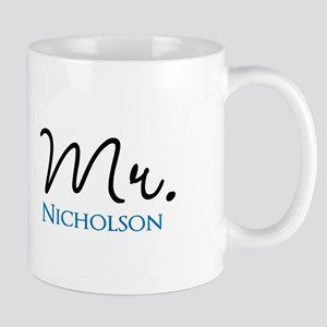 Customizable Mr and Mrs set - Mr Mugs