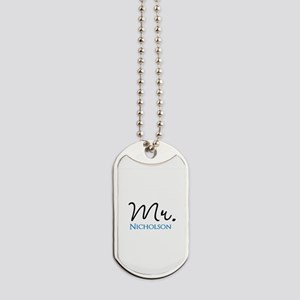 Customizable Mr and Mrs set - Mr Dog Tags