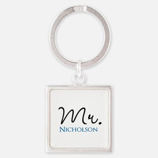 Customizable Mr and Mrs set - Mr Keychains