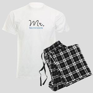 Customizable Name Mr Men's Light Pajamas