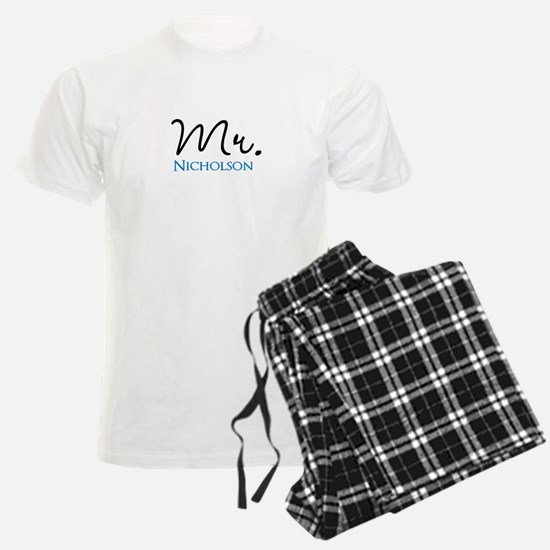 Customizable Mr and Mrs set - Mr pajamas