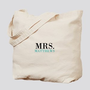 Custom name Mr and Mrs set - Mrs Tote Bag