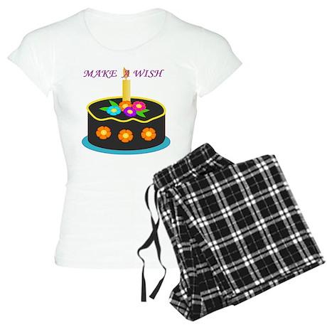 MAKE A WISH HAPPY BIRTHDAY CAKE Pajamas
