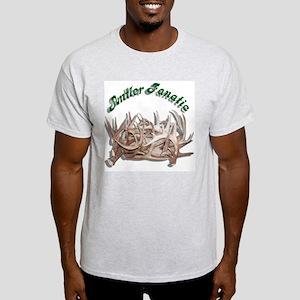 Antler Fanatic Ash Grey T-Shirt