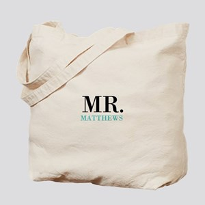 Custom name Mr and Mrs set - Mr Tote Bag